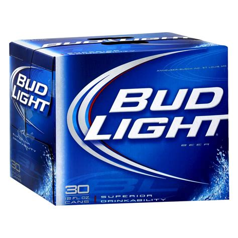 18 pack of bud light price upc 492130301827 bud light beer cans 12 oz 30 pk
