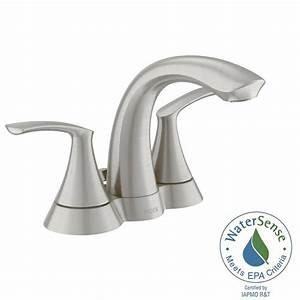 moen darcy 4 in centerset 2 handle bathroom faucet in With moen darcy bathroom faucet
