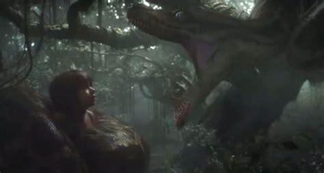 Jungle Book 2016 New Trailer Recreates Scene Where Kaa