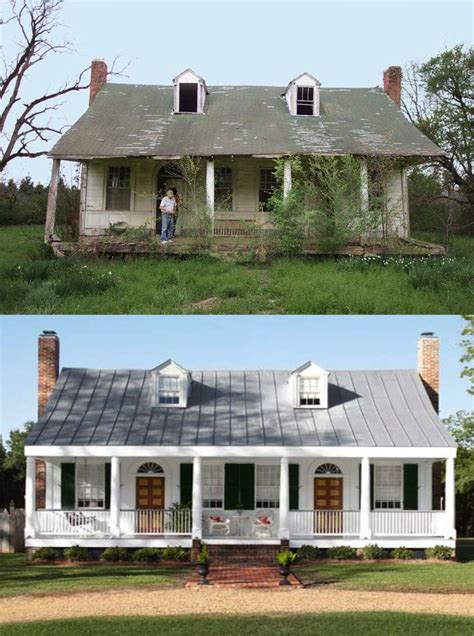 home design before and after before and after farmhouse exterior makeovers