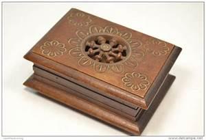Boite A Bijoux En Bois : boite a bijoux ancienne en bois visuel 1 ~ Teatrodelosmanantiales.com Idées de Décoration