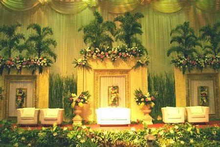de dekorasi dekorasi pelaminan tradisional  modern