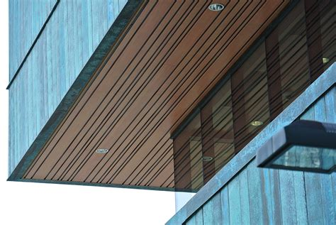Exterior Wood Ceiling Planks by Exterior Gt Soffit Gt Metal Sound Rite Acoustical
