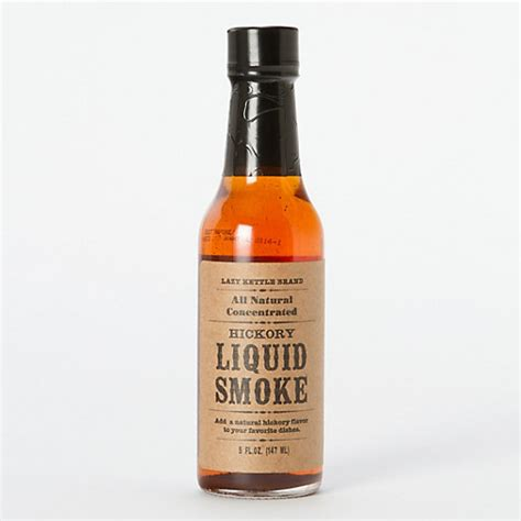 what is liquid smoke hickory liquid smoke terrain