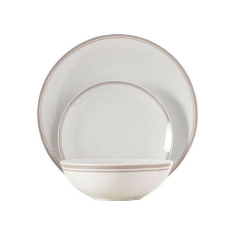 dinnerware piece wayfair service porcelain basics striped sets mug