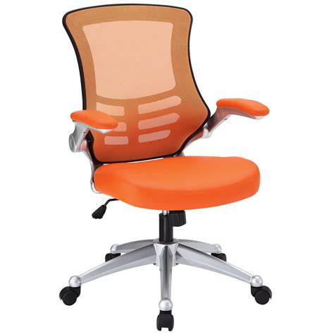 attainment modern ergonomic mesh back office chair w