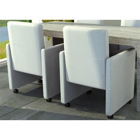 Weiße Stühle Esszimmer by Esszimmer St 252 Hle 2er Set Auf R 228 Dern Wei 223 Gepolstert De