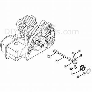 Stihl Ms 250 Chainsaw  Ms250 C  Parts Diagram  Oil Pump