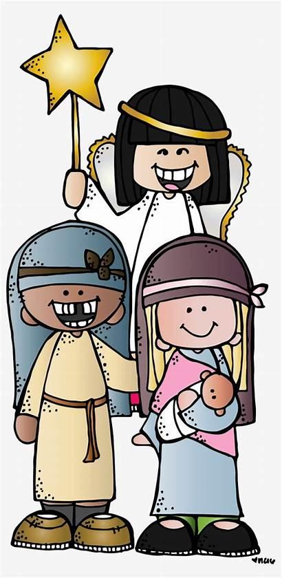 Melonheadz Clipart Lds Nativity Pet Jesus Program