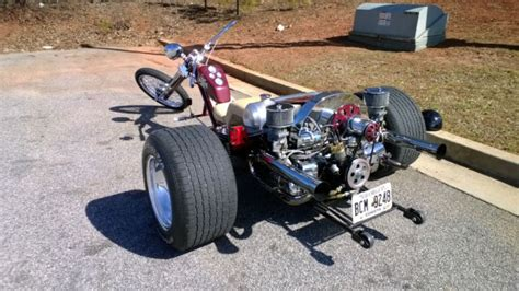 motorcycle trike chopper trike custom chopper volkswagen trike vw trike