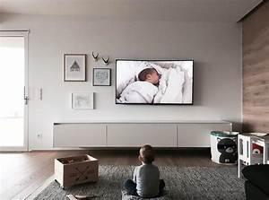 Bilder An Die Wand Hängen : auf welche h he h ngt man den fernseher jetzt tipps lesen ~ Sanjose-hotels-ca.com Haus und Dekorationen