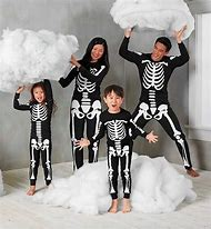 Family Halloween Costumes Skeleton