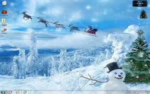 Christmas Desktop Themes Windows 7