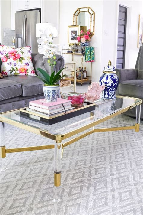In conclusion, we can only confirm that there are a great variety of materials, shapes, colors, sizes and ideas for your modern coffee tables in the interior design market today, so just explore and choose from this rich, beautiful abundance. 5 Chic & Glam Coffee Table Decor Ideas - Monica Wants It