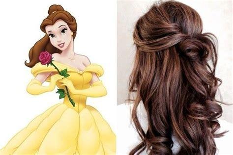 belle beauty   beast   belle hairstyle