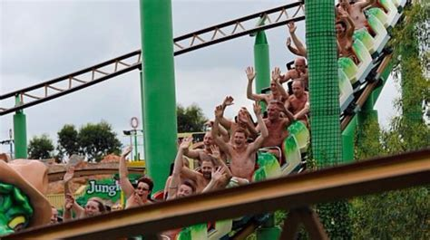 naked ambition  record attempt    roller coaster