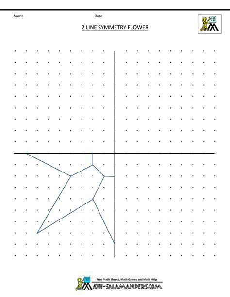symmetry worksheets symmetry activities