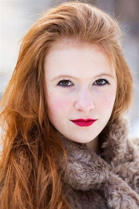Redheads From 20 Countries Photographed To Show Their