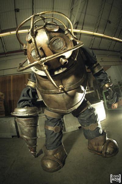 incredible homemade bioshock big daddy costume gadgetsin