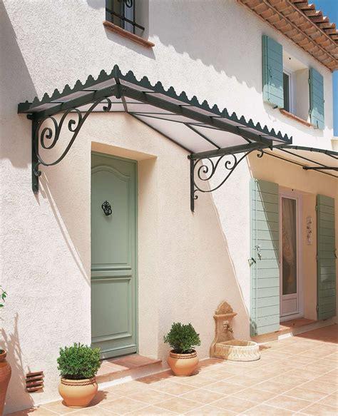 la maison des marquises auvents de porte d entr 233 e en fer forg 233 design unopi 249