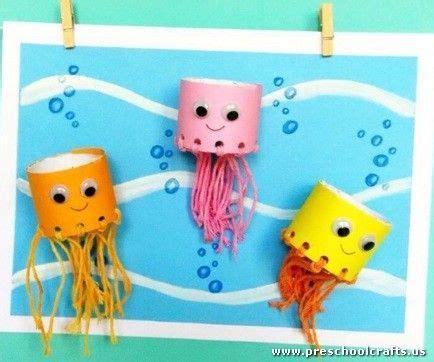 sea animals craft idea with toilet rolls preschool 677   6dedf2c8f960228031f0d8b4a0701f16