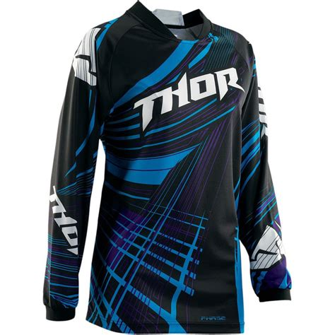 thor motocross jersey thor phase flora womens jersey womens jerseys womens