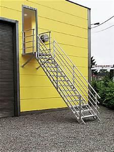 Escalier Metal Prix : escalier m tallique industriel escalier de secours aluminium ~ Edinachiropracticcenter.com Idées de Décoration