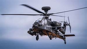 Apache Attack Helicopter Ah-64d  E