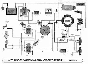 Ignition And Solenoid Series Poulan Diesel Diagram System