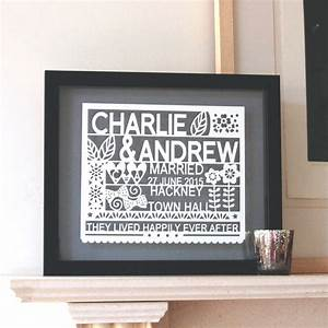personalised wedding gift for same sex couple by ant With wedding gifts for gay couples