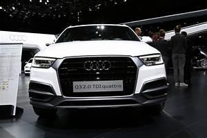 Audi Q3 Restylé : audi q3 restyl le discret du salon de gen ve photo 4 l 39 argus ~ Medecine-chirurgie-esthetiques.com Avis de Voitures