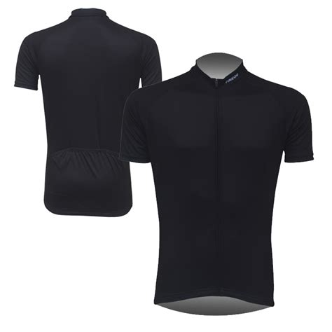 black cycling mens solid black cycling jersey garments bike riding short