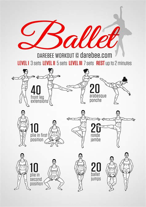 best ballet barre workout darebee on quot ballet workout http t co cpcetpleep