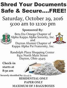 document shredding set for clayton residents With document shredding dayton ohio