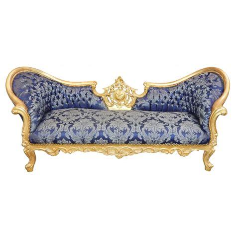 canapé napoléon iii canapé baroque napoléon iii tissu quot gobelins quot bleu et bois doré