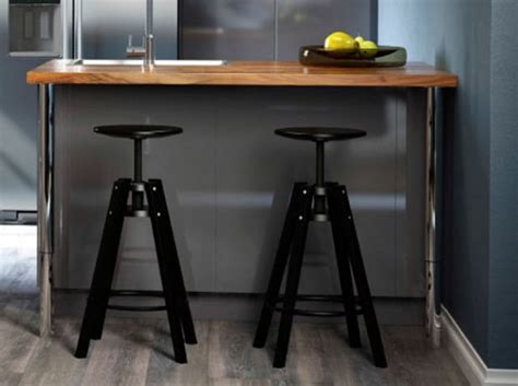 bar pour cuisine ikea tabouret noir bar ikea deco salon cuisine