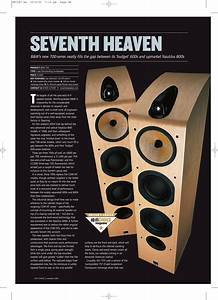 Bowers And Wilkins Seventh Heaven 700 Users Manual