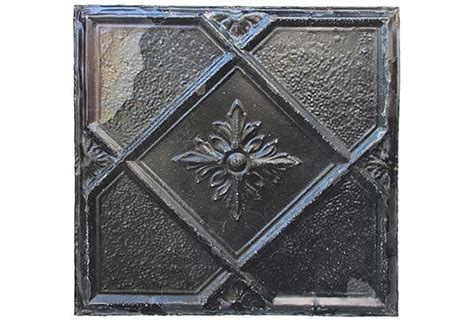 large antique tin ceiling tile wall hanging omero home