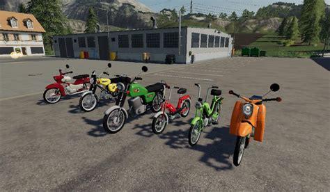 Mod Motorcycle Pack V10 Farming Simulator 19 Mod Ls19