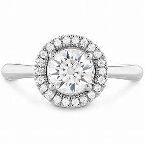 Destiny hof halo engagement ring for Halo engagement rings with wedding bands