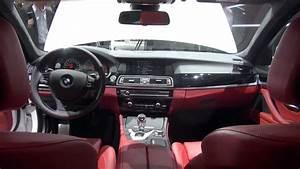 Bmw M5 F10 Red Interior
