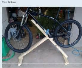 Staionary Bike Stand by Make Your Own Bike Repair Stand Truing Stand Brisbane