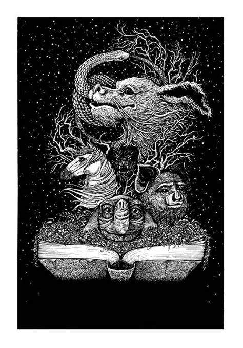 The Neverending Story (2015) [550 x 700] | Book tattoo | 物語, しない, ドラゴン