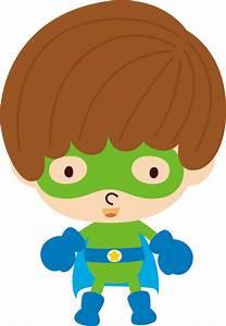 Baby, Superheroes, Clipart