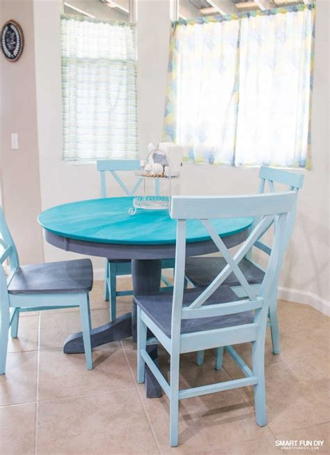 is chalk paint durable for kitchen table chalk paint table makeover