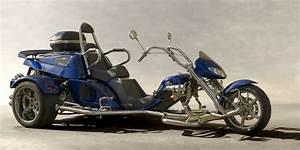Moto A 3 Roues : parlons des trikes ces motos trois roues chewing gomme ~ Medecine-chirurgie-esthetiques.com Avis de Voitures