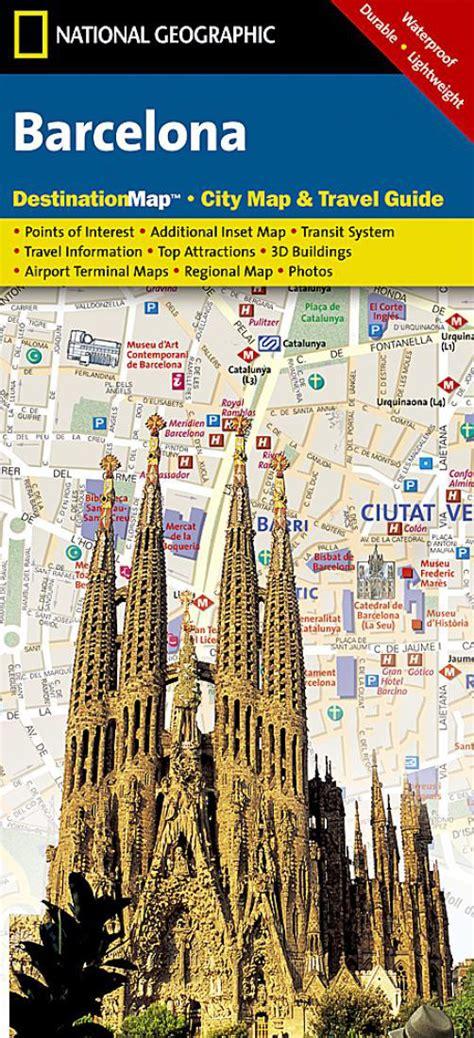 National Geographic - Barcelona, Spain - Folding Travel ...