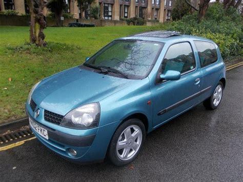 renault clio 2002 used renault clio car 2002 blue petrol 1 2 16v extreme 3