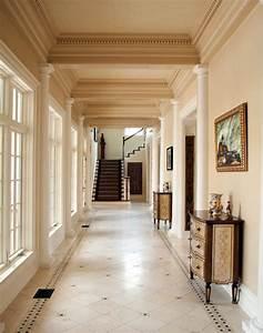 Excellent idea colonial house interior design colors for Ideas for interior trim colors