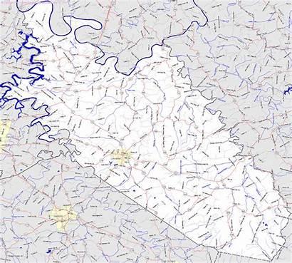 Garrard County Ky Kentucky Map Bridgehunter States